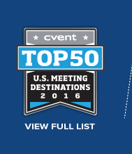 Top 50 U.S. Meeting Destinations 2016